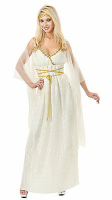 Grecian Princess Adult Roman Maiden Costume Roman Toga Egyptian Diva 02178