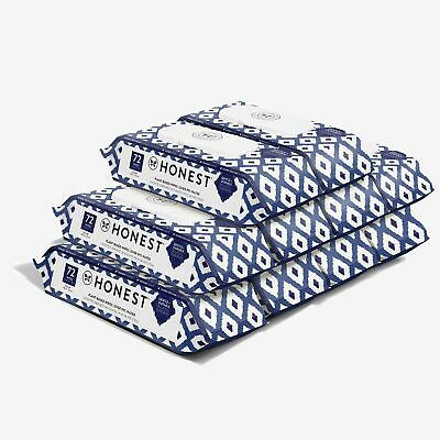 The Honest Company Baby Wipes - 720 Count Blue Ikat