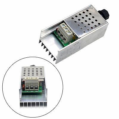 Ac 110-220v 10000w Scr Motor Speed Controller Volt Regulator Dimmer Thermostat
