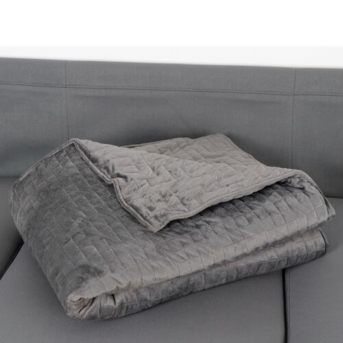 Weighted Blanket 48 x 72 Inches, W/ Removable Super Soft Cover Twin Size Bedding