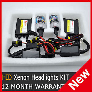 HID Xenon Conversion SLIM KIT H1 H3 H7 9005 HB3 9006 HB4 H11 6000K