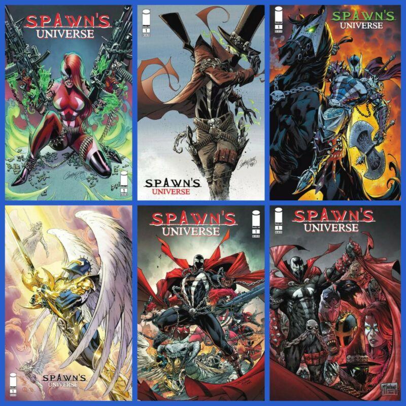 Spawn Universe #1 Cover A B C D E F Variant Set Options Image Presale 6/23