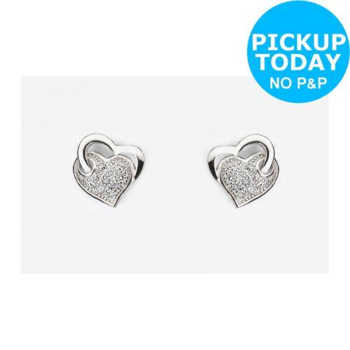 9ac6b6a9e177f Revere Sterling Silver Cubic Zirconia Andralok Stud Earrings | eBay