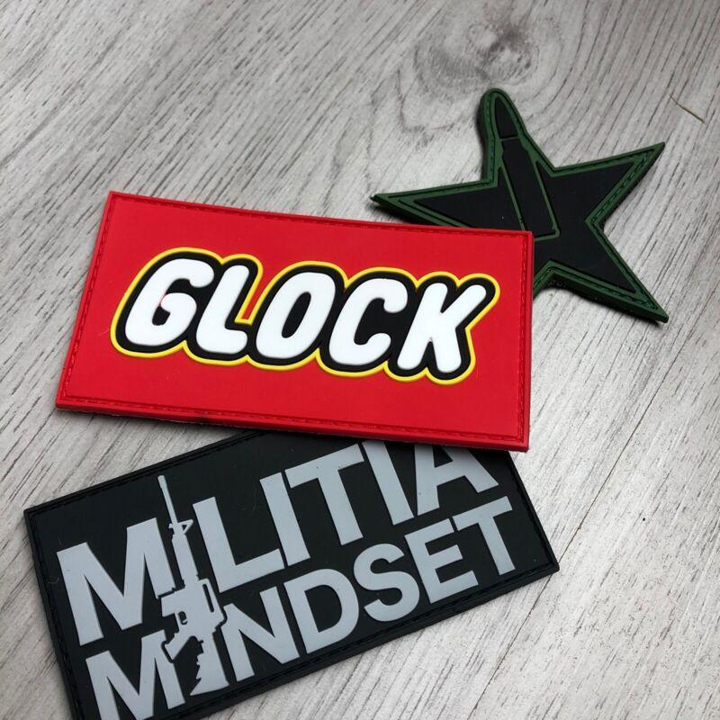 GLOCK LEGO PVC PATCH MORALE PATCH
