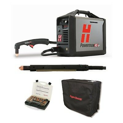 Hypertherm Powermax45 Xp Plasma Wcpc 25ft Mech And Hand Torches 088123