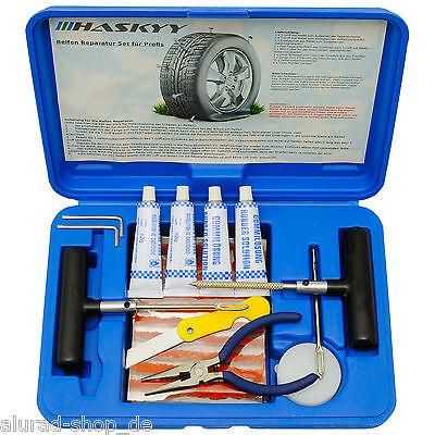 Reifen-Reparatur-Set 47tlg Flicken Satz Auto Reifen Pannenset Flickzeug Werkzeug