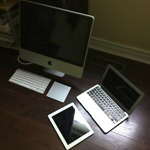 Apple Bundle iMac, Macbook Air, iPad 2
