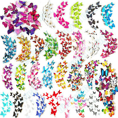 inge Wandtattoo Wanddeka Wand Deko Wandtatoo Wandaufkleber (Schmetterlinge Dekorationen)