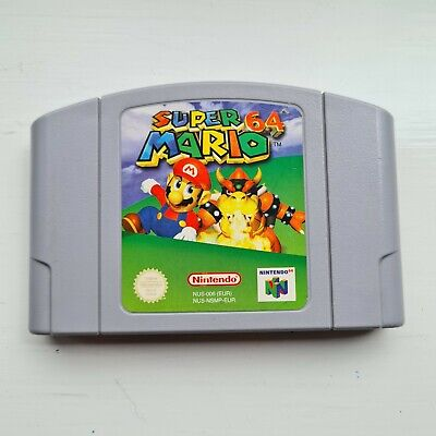 Super Mario 64 Nintendo N64 Pal UK Game Cart Only Tested Working Condition