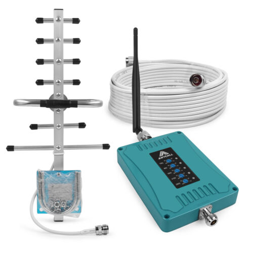 3G 4G 700/900/1800/2100/2600MHz Signal Booster 70dB Band 28
