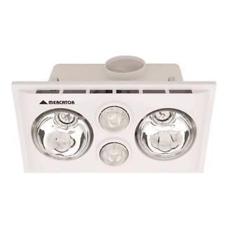 NEW Bathroom 3 in 1 Heater Exhaust Fan