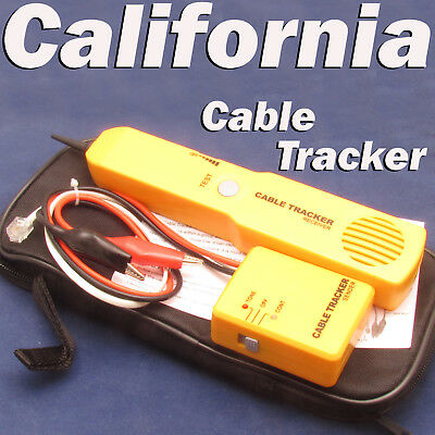 Network Phone Cable Wire Toner Tracer Tracker Amplifier Tuff Jacks Quality