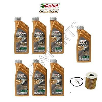 7-10w60 CASTROL EDGE SUPERCAR Synthetic Motor Oil+Mann Oil Filter comprar usado  Enviando para Brazil