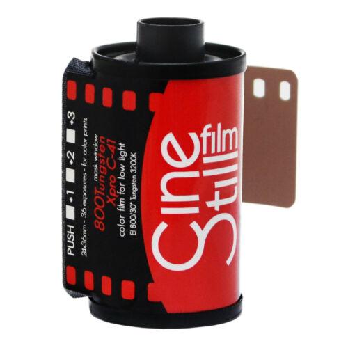 Cinestill 800 800T Tungsten XPRO 36exp 35mm 135 Color Prints Negative Film US