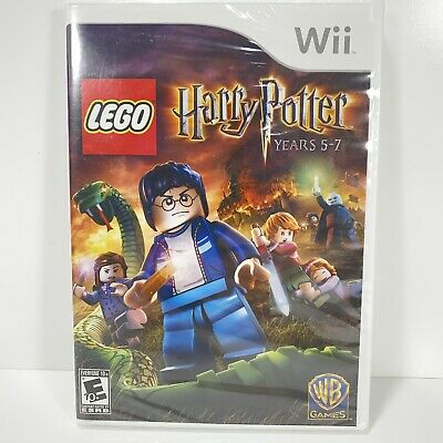 Wii LEGO Harry Potter Years 5-7 Nintendo 2011 - New/Sealed