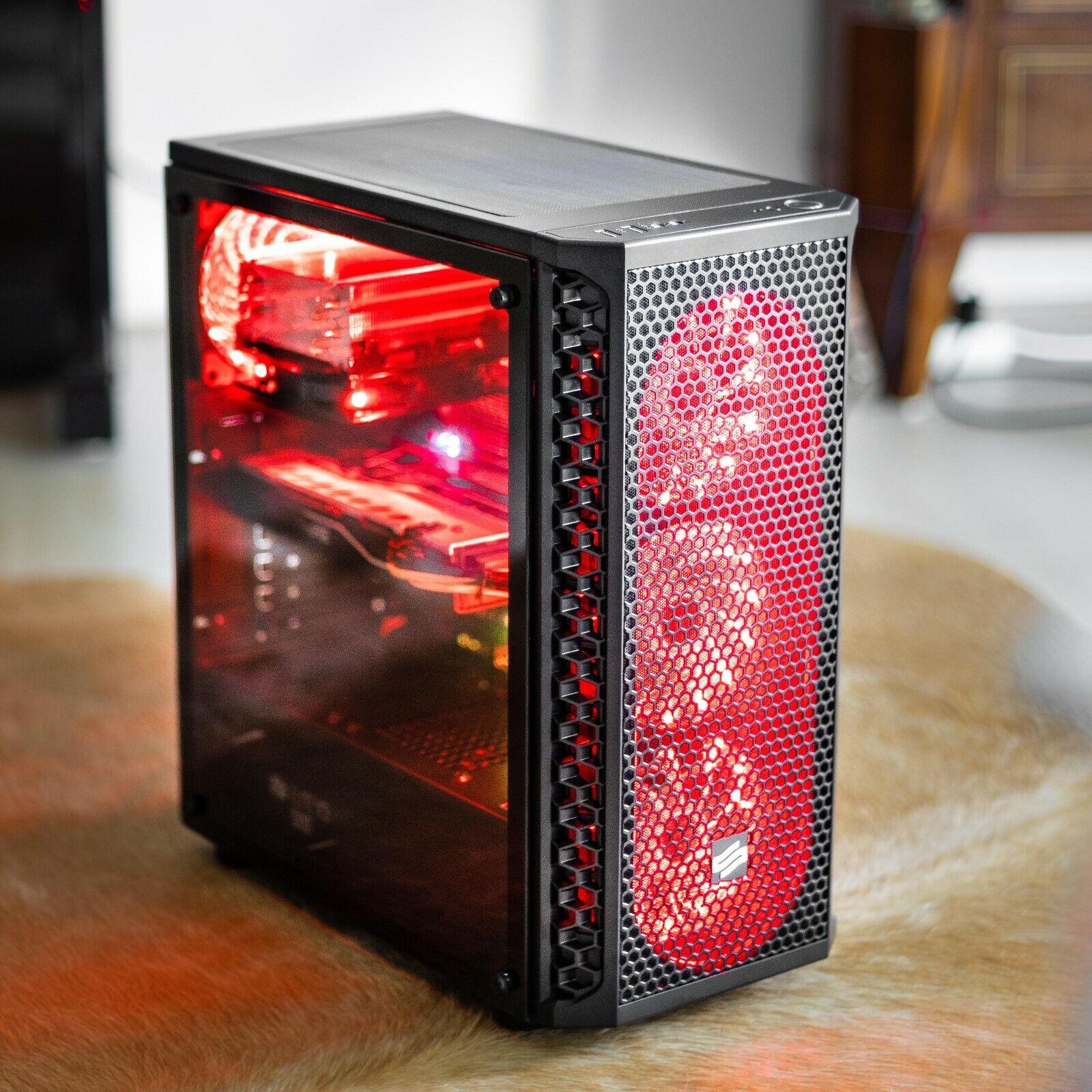 32GB RAM 6x4.3GHz AMD RX580 240GB SSD+1000GB Wlan Win10 Pro Gaming PC
