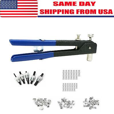 86pcs Threaded Nut Rivet Tool Riveter Rivnut Nutsert Gun Riveting Kit M3-m8