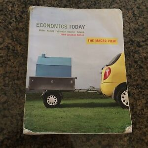 Economics today, the Macro View (3rd edition)