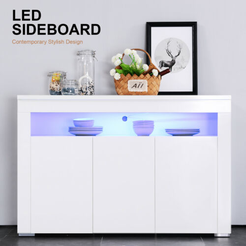 gloss white light sideboard cabinet