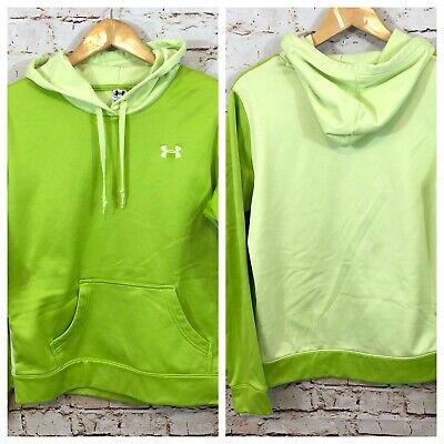 Under Armour Divide Hoodie sweatshirt pullover womens medium Green 1235804 BX2