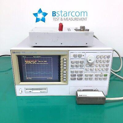 Hpagilent4291b Rf Impedancematerial Analyzer-001test Stationtest Head16195a