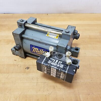 Miller A77t Cylinder 5 Bore 6 Stroke 150 Psi Air Oil Tank - Used