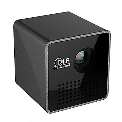 Mini Portable Pocket Multimedia Projector DLP P1+ HD 1080P with AirPlay WiFi