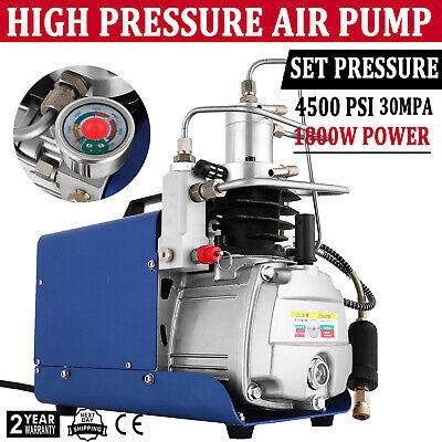 Auto Shut Yong Heng 30mpa Air Compressor Pump Pcp Electric 4500psi High Pressure