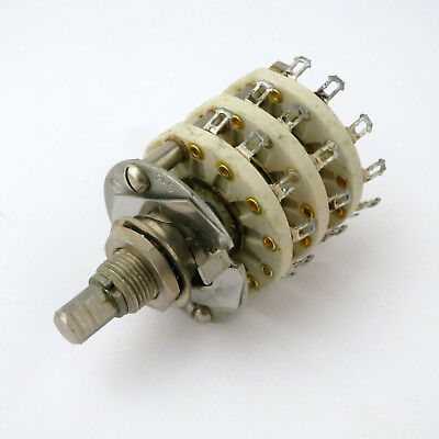 Centralab 8 Position 3 Pole Ceramic Rotary Switch