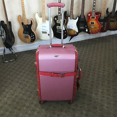 Samsonite Black Label Vintage Pink Spinner Suitcase Luggage 26""