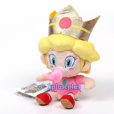 SUPER MARIO BROS. BABY PEACH PELUCHE Principessa Jr. Plush Boo Daisy Bowser