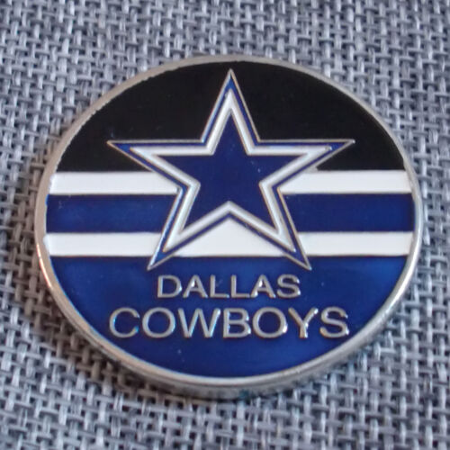 NFL Dallas Cowboys Poker Chip Card Guard Challenge Coin Golf Marker Paper Weight