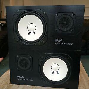 Yamaha NS-10M Pair Of Studio Monitors NS10 NS10M