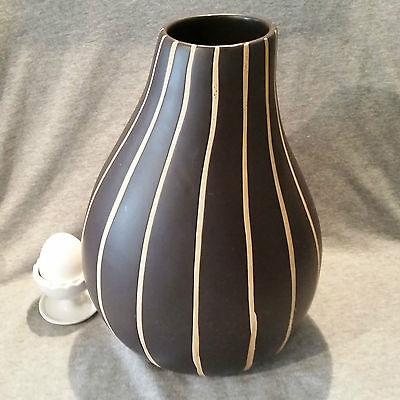 Besonders ungewöhnlich geformte, große Vase tolles Design Ashley Brooke