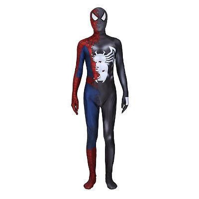 Amazing Spider Man Kids Costume (The Amazing Spider-man Venom Jumpsuit Spiderman Cosplay Costume For Adult &)
