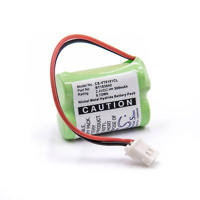 Akku Batterie 300mAh für V-TEch LS6005, LS6191, LS6195, 2SN-2/3AAA40H-S-X2