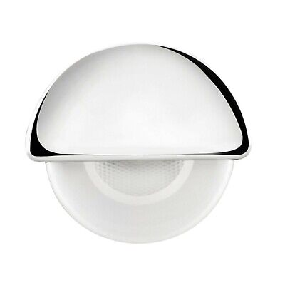 Half Moon Accent Light - 12V LED Recessed Courtesy Boat Light | Half Moon | RV Accent LED | Blue LED