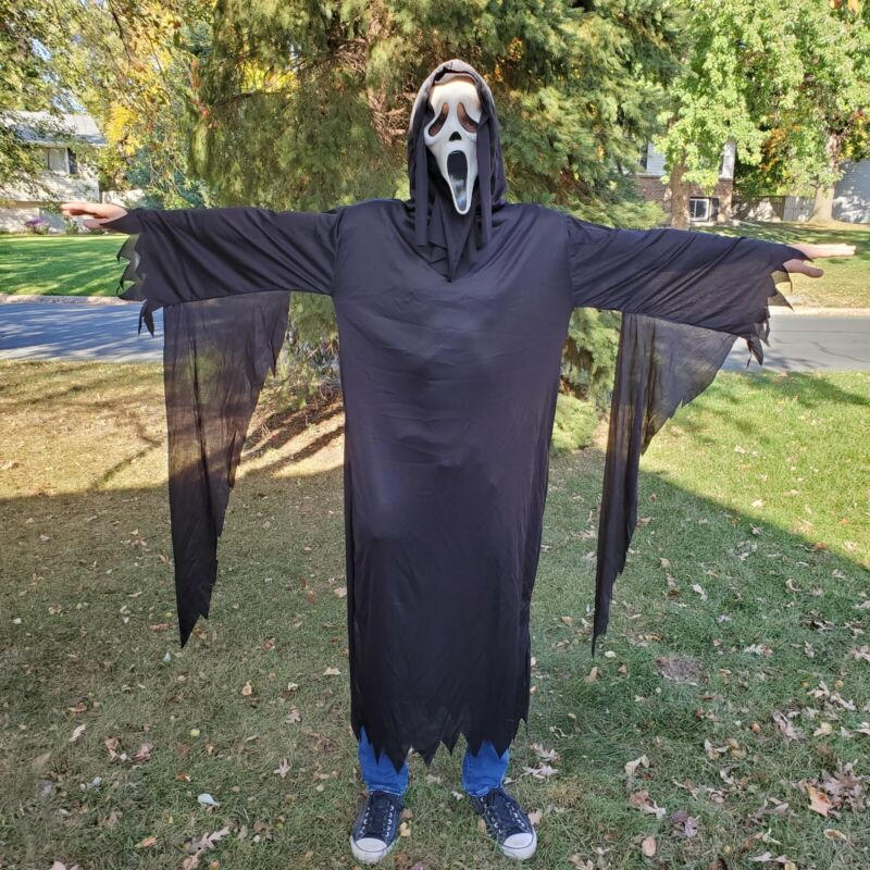 VTG Scream Easter Unlimited Fun World FULL COSTUME Halloween Ghostface Movie