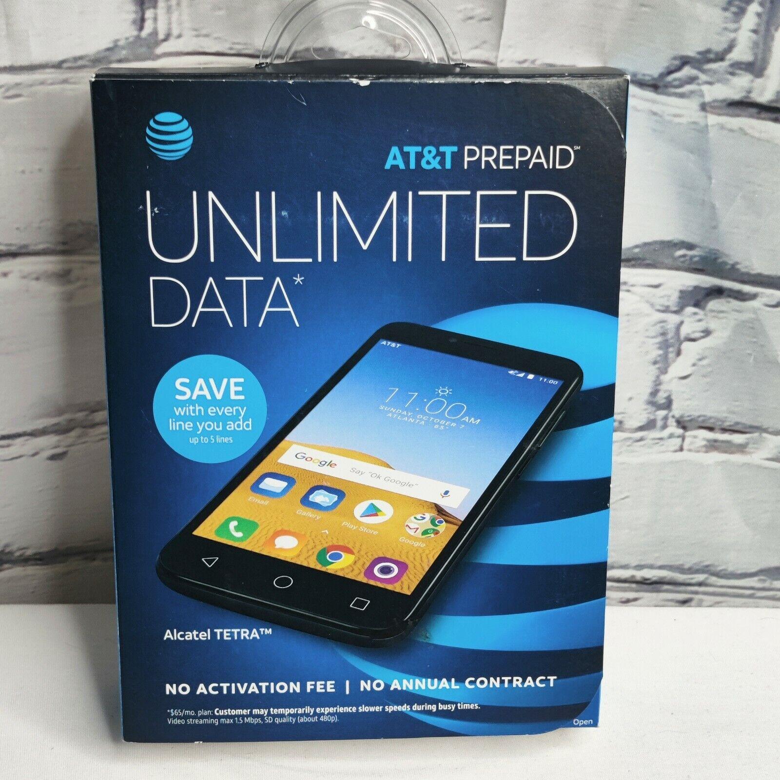 Alcatel Tetra 16GB GSM Unlocked 5041C Android 8.1 Oreo Phone