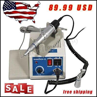 Dental Lab Marathon Electric Micro Motor 2x Low Speed Handpiece Promotion Usa
