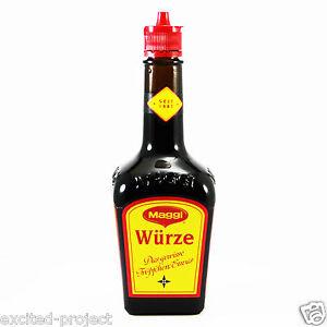 MAGGI Würze - Original Maggi Traditional Seasoning Sauce from Germany