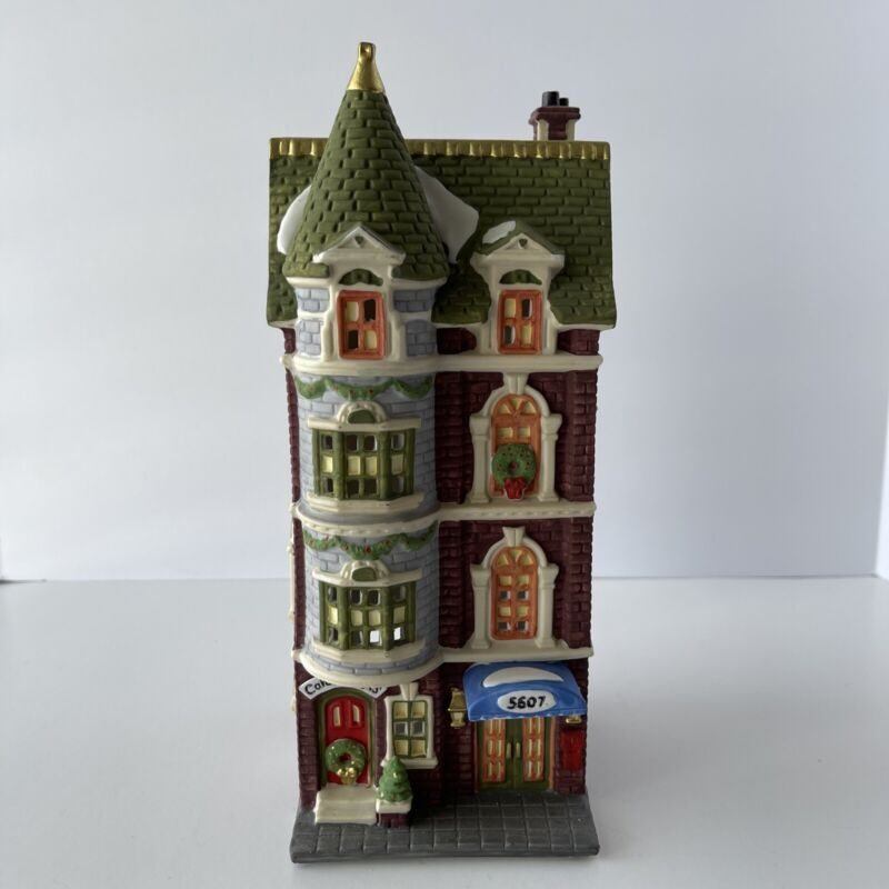 Dept. 56 Christmas In The City Series 5607 Park Avenue Townhouse 1989 #5977-3
