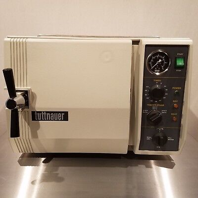 Excellent Refurbished Tuttnauer 2340m Steam Sterilizer Autoclave 2340 Warranty