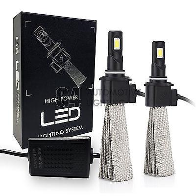 2x Fanless HB4 9006 Canbus LED Headlight Conversion Kit 6000K Super White Bulbs