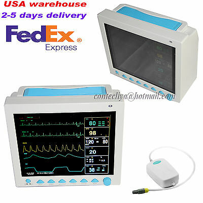Fda Portable Vital Sign Icu Ccu Patient Monitor Multiparametercapnography Etco2