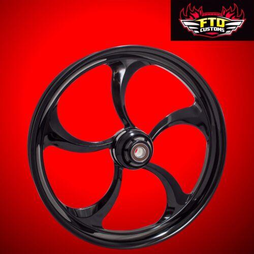 "Harley Davidson 30 Inch Black Front Wheel ""merlin"""