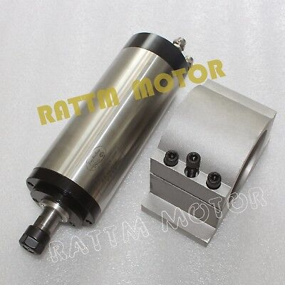 Cnc Spindle Kit 1.5kw Water-cooled Er16 Spindle Motor Engraving Mill80mm Clamp