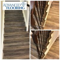 ALL FLOORING PRODUCTS WITH INSTALL LONGEST RUNNING AD ON KIJIJI