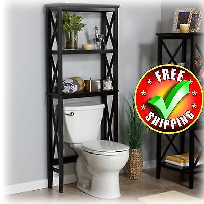 Over The Toilet Storage Bathroom Set out Saver Bath Paper Organizer Towel Rack