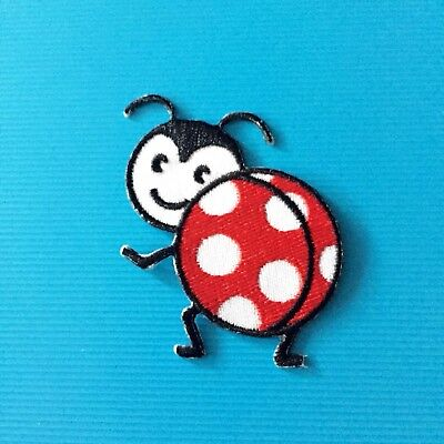 Ladybug Insect Embroidered Patches Iron On Appliqué - Insect Crafts